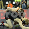 2014 Iowa High School Athletic Association State Championships Class 3A<br /> 160<br /> Semifinal - Skyler St. John (Prairie, Cedar Rapids) 44-4 won by decision over Andy Bartel (Mason City) 39-9 (Dec 5-1)