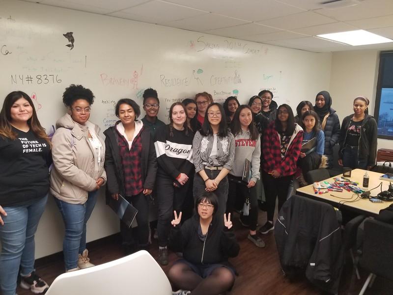 Inaugural Girls Who Code Spring 2019 Cohort