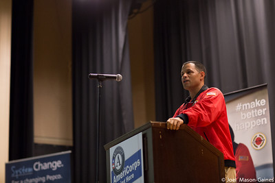 20 January 2014, City Year DC's MLK service day at Coolidge High School