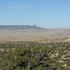 Cabezon Peak looming in the distance.
