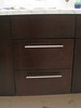 "Apple Valley.  Mahogany veneer.  Master bath.  Replace vanity drawer face.  8 1/4"" high x 15 7/8"" wide"