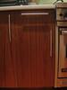 """Apple Valley.  Walnut veneer.  Kitchen.  Replace cabinet door.  24 3/8"""" tall x 14 7/8"""" wide<br /> Apple Valley.  Walnut veneer.  Kitchen.  Replace drawer face.  5 7/8"""" high x 14 7/8"""" wide"""