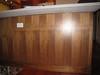 "Apple Valley.  Walnut veneer panel.  Kitchen.  Replace panel.  64 7/16"" wide x 34 3/4"" high."