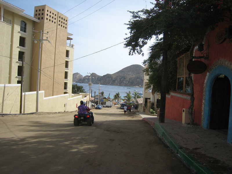 In Mexico - any tranportation goes...