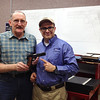 My 1911 leaving the Cabot Facility.  Ray & Rob show off my 1911 before shipping.  Wow!  First caliber people and company!