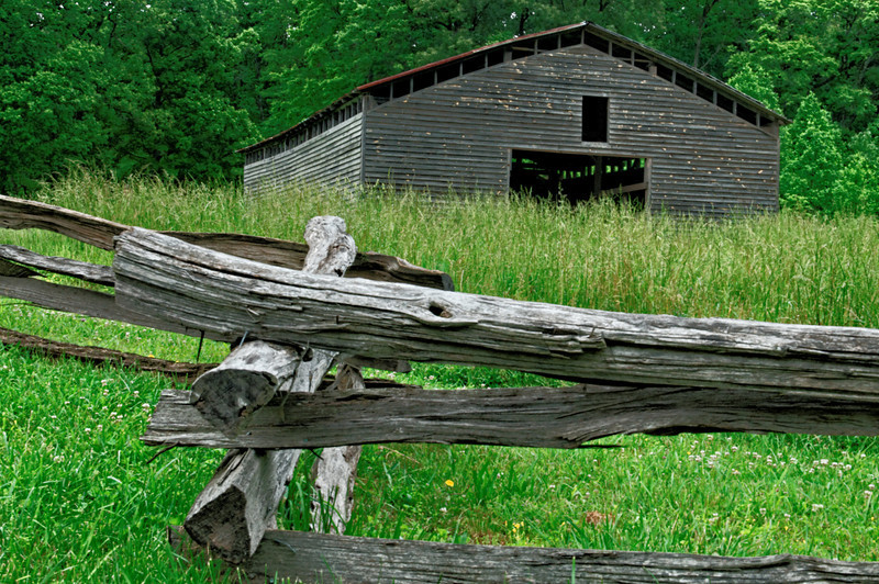 Dan Lawson Homeplace Barn
