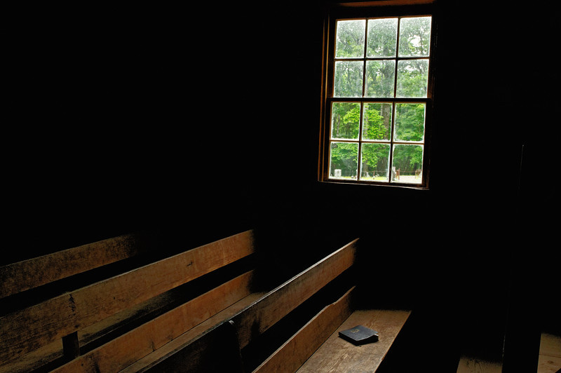 Primitive Baptist Church Interior