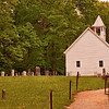 Primitive Baptist Church and Graveyard 1827 - Cades Cove