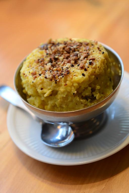. Tania Barricklo-Daily Freeman                      Saffron Rice Pudding