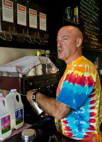 Harry Bevan. Started Gusto down at Bondi some 25 years ago and having run his own business, Crave for the last 20 is looking to retire. Always a hippy at heart, he is most likely off to some pacific island
