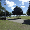 Part of the Cairns foreshore park.