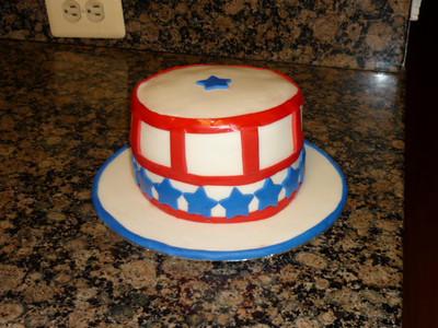 2010 07 - 4th July cake (2)