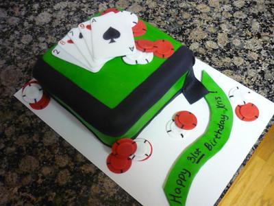 2010 03 - Poker cake (2)