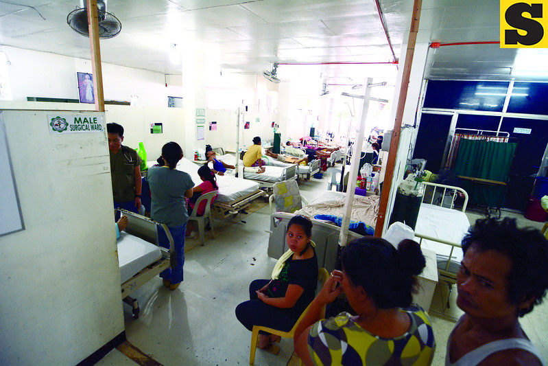 Private rooms for patients at CCMC