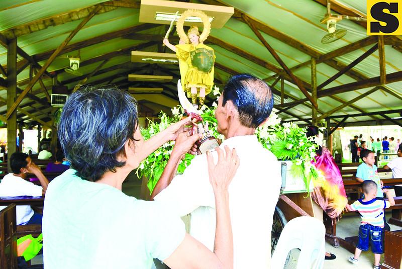 Sunday rituals in Clarin, Bohol