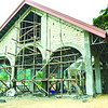 Temporary church in Loboc Bohol