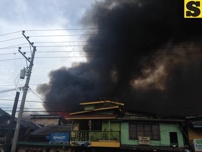 A fire broke out Tuesday afternoon in Sitio Laray, Barangay Carreta, Cebu City. The Cebu City Fire Department received the alarm at 3:26 p.m. (Armie Garde/Sunnex