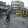 Flooding in Junquera St. in Cebu City