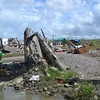 TACLOBAN. A boy stands amid the ruins in Basey, Samar, on November 28. (Gerwin Babon)
