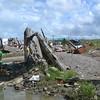 TACLOBAN. A boy stands amid the ruins in Basey, Samar, on November 28. (Gerwin Babon)