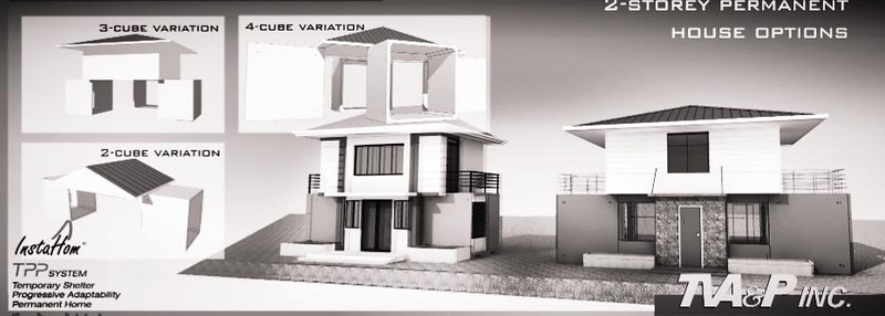 Architect Tony Vasquez suggested that modular housing could be easily installed in typhoon-hit areas.
