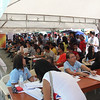 Job fair six months after Typhoon Yolanda