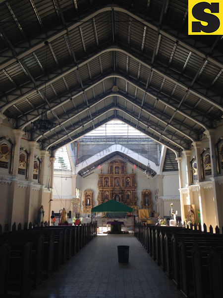 Palo Cathedral Church six months after Typhoon Yolanda
