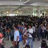 Job fair applicants six months after Yolanda