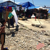 Anibong District in Tacloban City six months after Typhoon Yolanda
