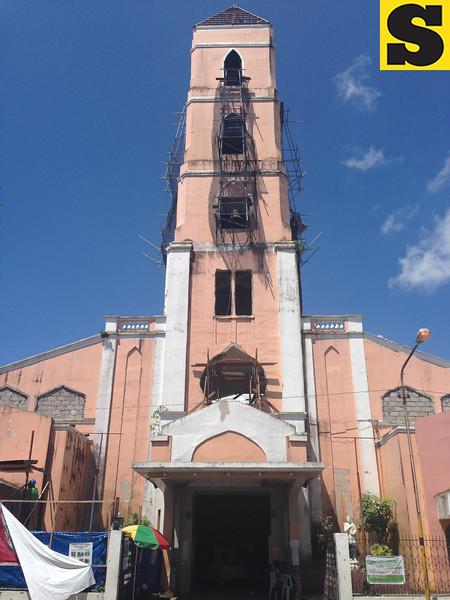 Sto. Nino church in Tacloban City