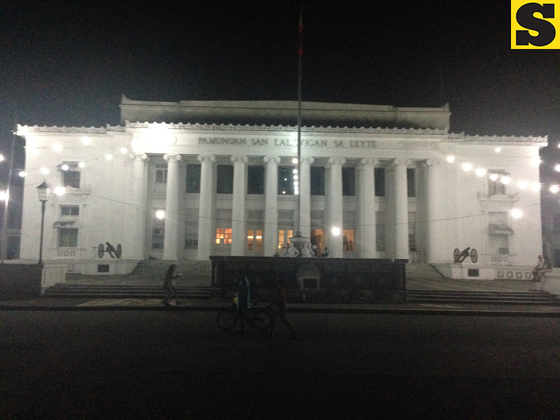 Leyte Provincial Capitol six months after Typhoon Yolanda