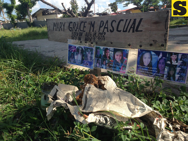 Typhoon Yolanda victim dies