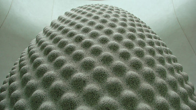 Seed sculpture - The Eden Project, Cornwall.