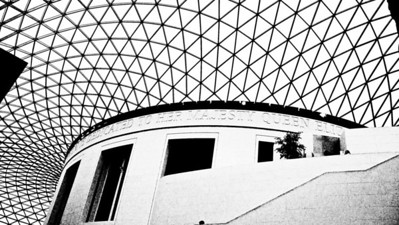 Inside the Great Court - British Museum