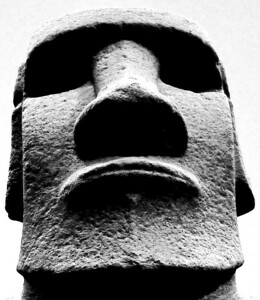 Easter Island head - British Museum