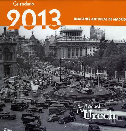 Portada del Calendario 2013 de Urech