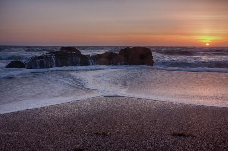 Schoolhouse Beach sunset