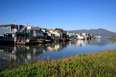 20190125-0V7A2143 Sausalito Houseboats, Mt Tam