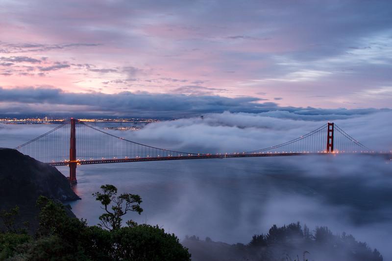 Golden Gate sunrise 1