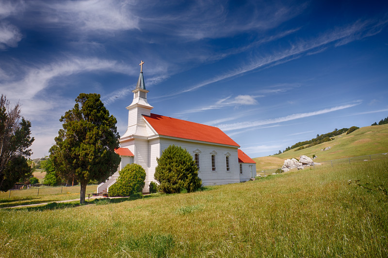 Old St  Marys (1867) Nicasio Valley