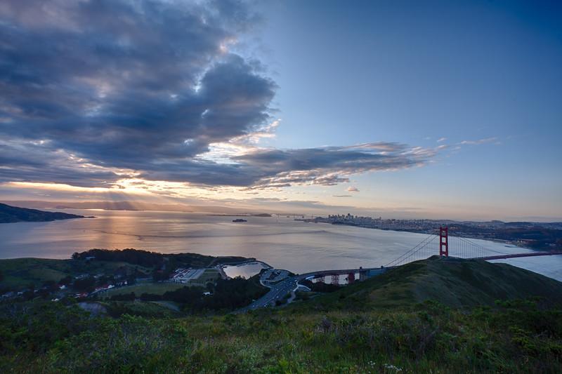 San Francisco sunrise-1