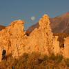 Mono Lake sunrise-moonset 1