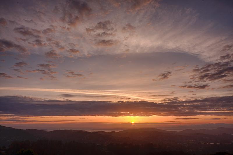 Mt  Tamalpias sunrise-1