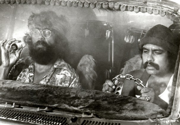 """. Cheech and Chong in Paramount\'s \""""Up in Smoke.\""""  Paramount Pictures"""