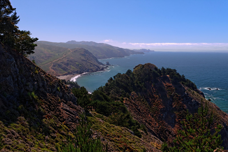 Coastline at Muir Beach Overlook