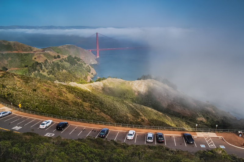 Travel Photography Blog: California. San Francisco. Hawk Hill