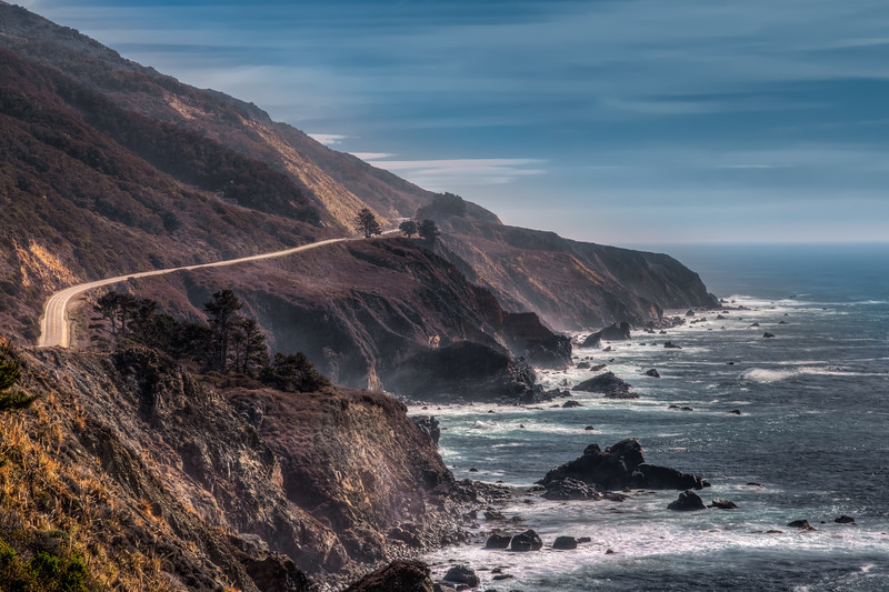 Travel Photography Blog - California. Ragged Point