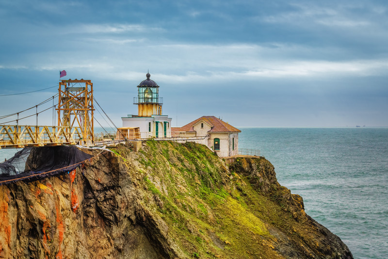 Travel Photography Blog - California.San Francisco. Point Bonita Lighthouse