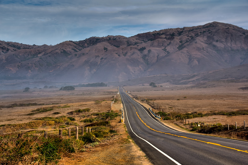 HDR Landscape - California State Route