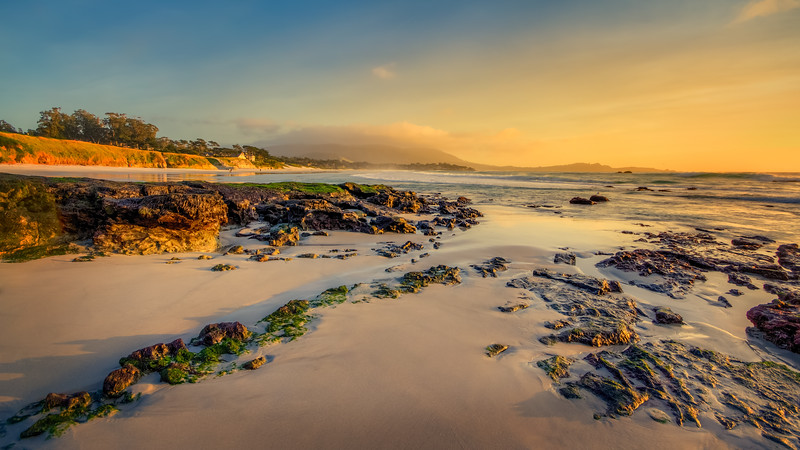 Travel Photography Blog - California. Carmel. Carmel Beach City Park